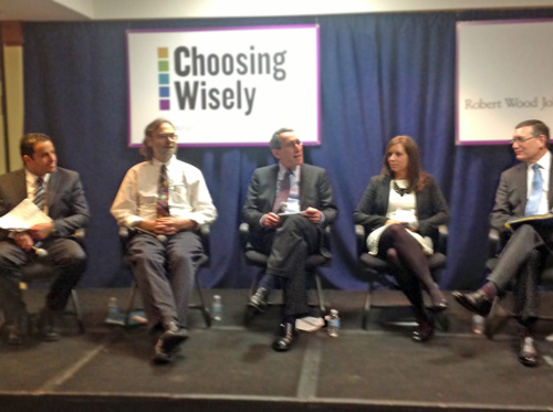 Choosing Wisely summit - Tierney on the panel