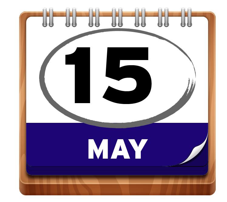 May 15