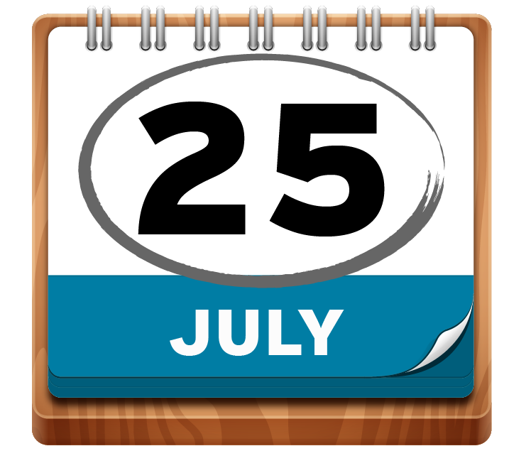 July 25