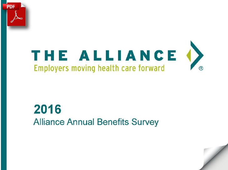 Benefits survey e-book