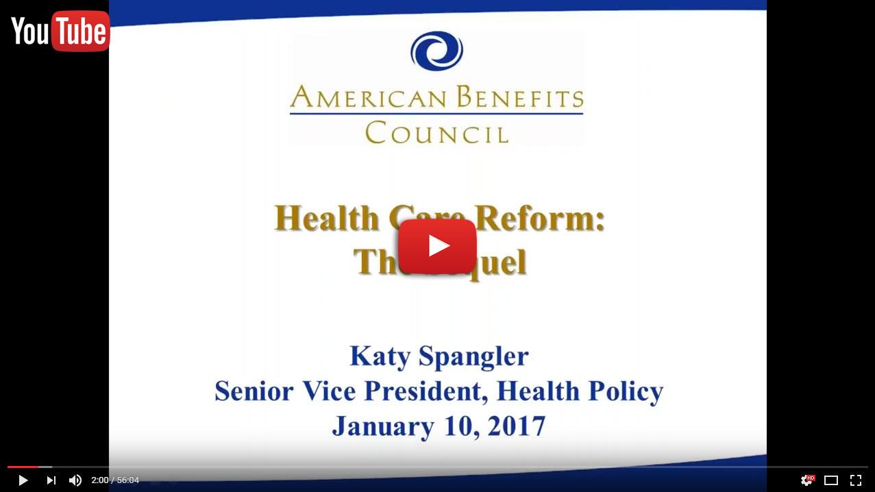 health policy webinar icon