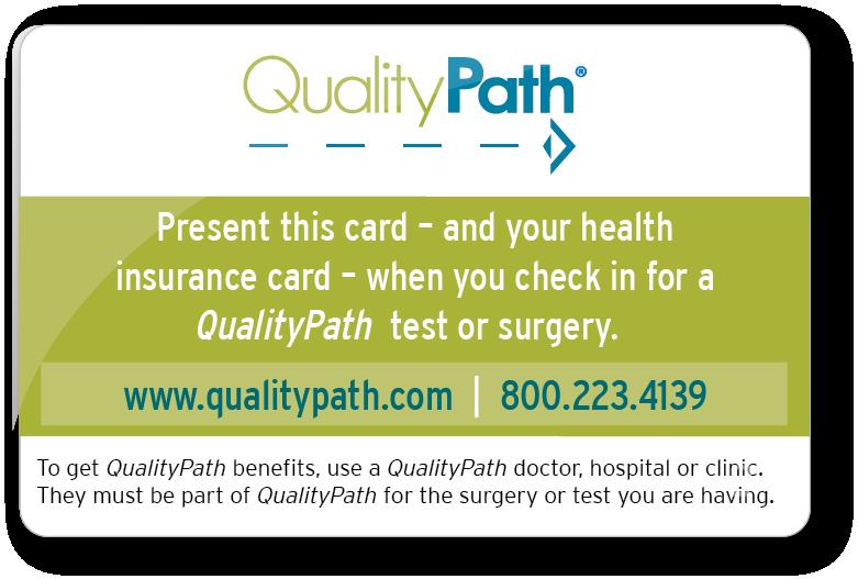 qualitypath program card