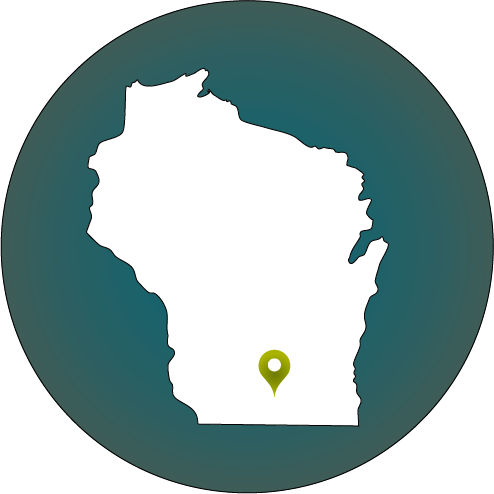 wisconsin map- madison