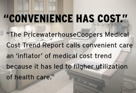Convenience has cost