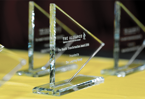 Honor Health Transformers with an Award from The Alliance