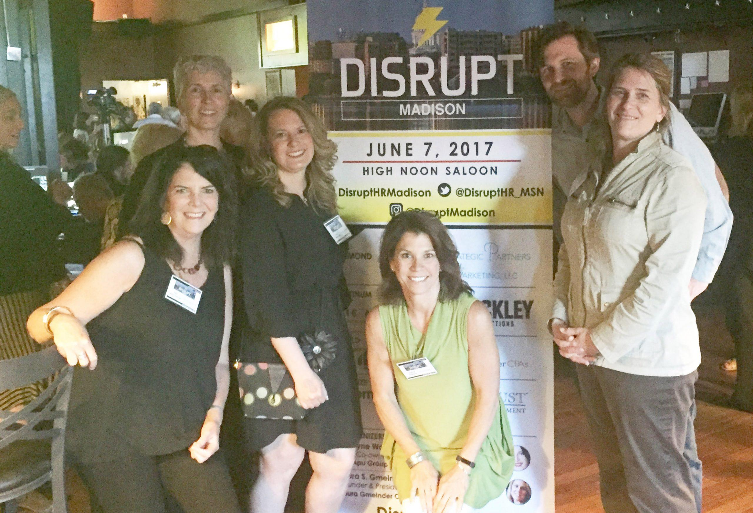 The Alliance Team at DISRUPT Madison