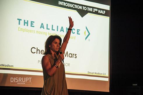 Cheryl Speaking