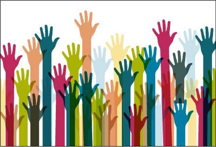hand reaching upward