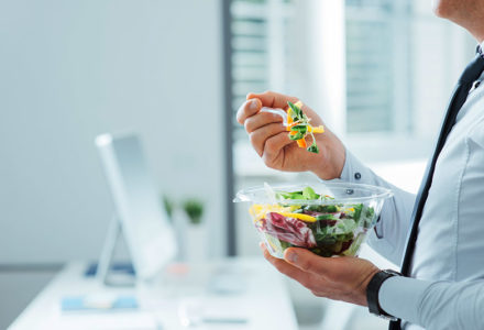 Healthy vegetarian meal