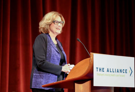 Sally Welborn at The Alliance Annual Seminar