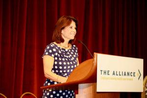 Cheryl DeMars speaking at Annual Seminar