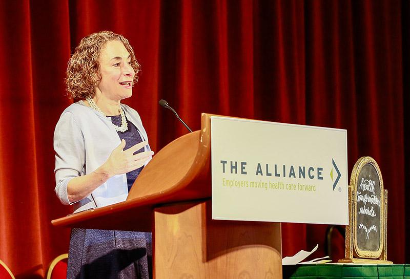 Elisabeth Rosenthal speaking on health system dysfunction