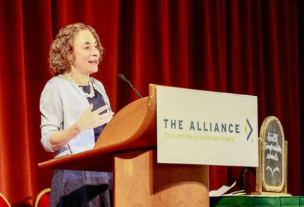 Elisabeth Rosenthal speaking