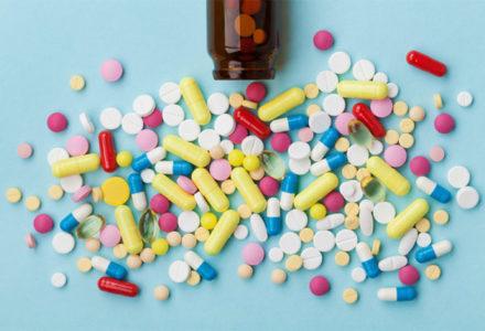 pills spilled
