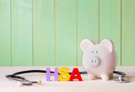 HSA piggy bank