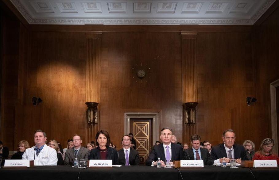 Panelists to testify before the U.S. Senate H.E.L.P. Committee (Nov. 28, 2018)
