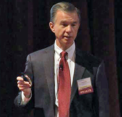 Harold D. Miller speaking at The Alliance Annual Seminar 2014